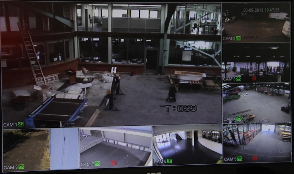 ecran videosurveillance